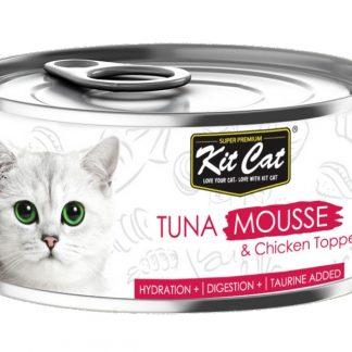 KIT CAT TUNA MOUSSE (mus z tuńczyka) [KC-2500] 80g