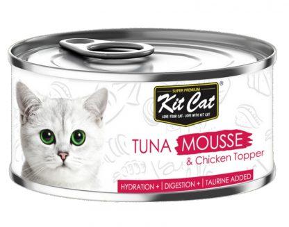KIT CAT TUNA MOUSSE (mus z tuńczyka) 80g