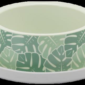 YARRO Miska Trendy dla kota 735ml - Eden z motywem zielonych liści [Y3718-1923]