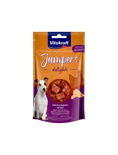 VITAKRAFT JUMPERS DELIGHTS kurczak/ser 80g d/psa