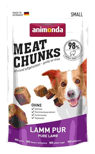 ANIMONDA Czyste kawałki mięsa Meat Chunks z Jagnięciną 60g