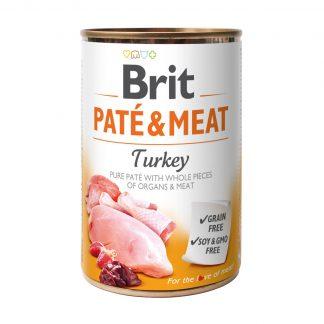 BRIT PATE & MEAT TURKEY 400 g