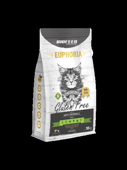 BIOFEED Euphoria ANTI HAIRBALL Gluten Free 10kg