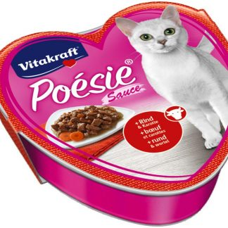 VITAKRAFT POESIE SOS wołowina/marchewka 85g d/kot