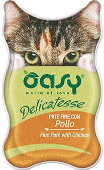 OASY DELICATESSE Paté - Kurczak 85 g