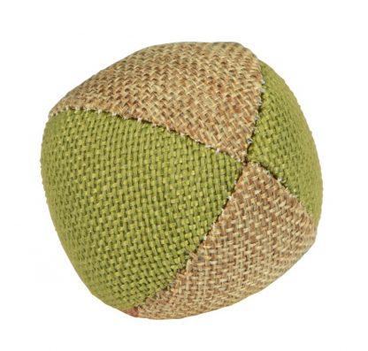 KERBL Zabawka piłka z naturalnego lnu