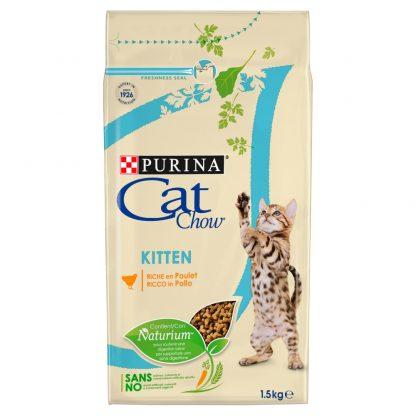 PURINA CAT CHOW KITTEN Bogata w kurczaka 1