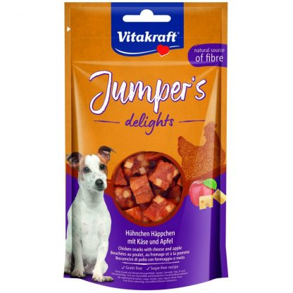 VITAKRAFT JUMPERS DELIGHTS kurczak jabłko 80g d/psa