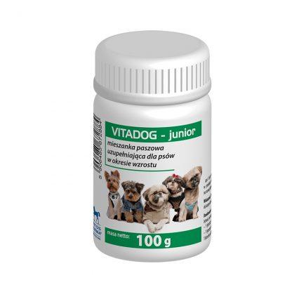 VITADOG JUNIOR - Mieszanka paszowa uzupełniająca dla psów w okresie wzrostu 100g.