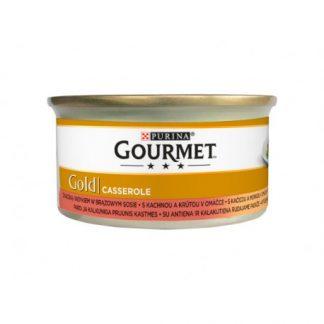 GOURMET GOLD - Casserole kaczka i indyk 85g