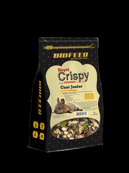 BIOFEED Royal Crispy Premium Cuni Junior 2kg - dla młodych królików