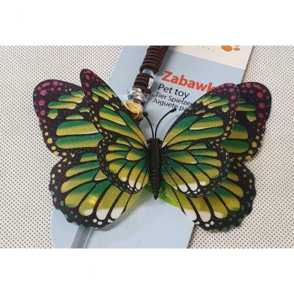 YARRO Zabawka dla kota - wędka z motylem [Y0203]