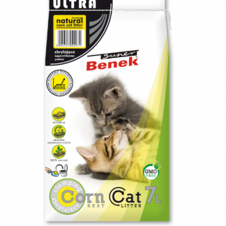 SUPER BENEK Corn Cat Ultra Naturalny 7l