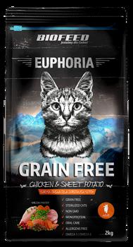 BIOFEED Euphoria ADULT CAT Grain Free Chicken&Potato 300g