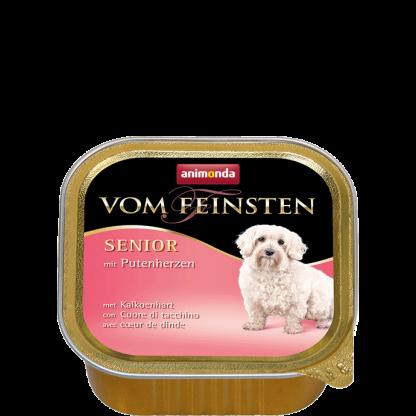 ANIMONDA Vom Feinsten Senior szalki z sercem indyczym 150 g