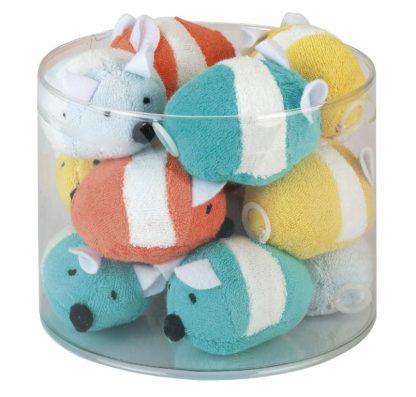 KERBL Zabawka dla kota Myszki frotte [83207]