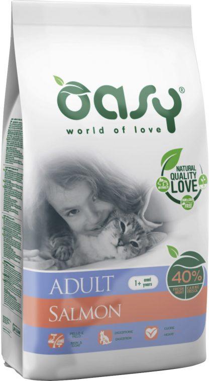 OASY DRY CAT Adult - Łosoś 1