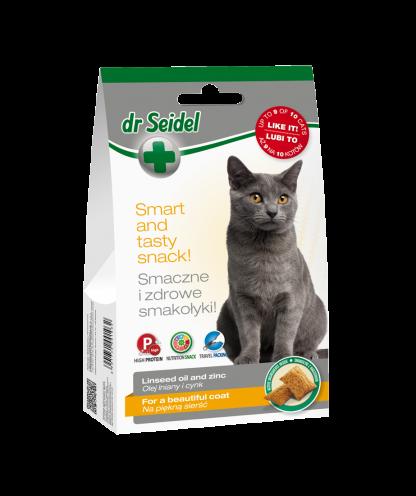 DR SEIDEL SMAKOŁYKI na piękną sierść dla kotów 50 g