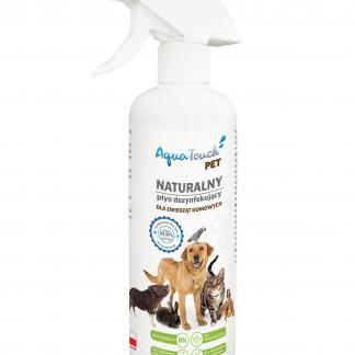 AQUATOUCH PET Naturalny płyn dezynfekujący dla zwierząt domowych 500ml