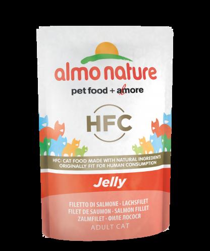 ALMO NATURE HFC Jelly - łosoś 55 g