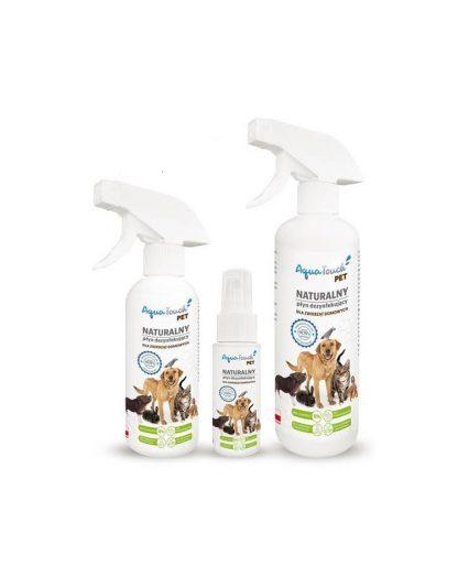 AQUATOUCH PET Naturalny płyn dezynfekujący dla zwierząt domowych 250ml
