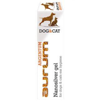 AURUM ARGENTUM - Żel z nanosrebrem do higieny uszu psów i kotów 30ml