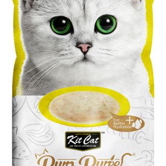 KIT CAT PurrPuree CHICKEN & FIBER (kurczak&błonnik) 4x15g [KC-881]