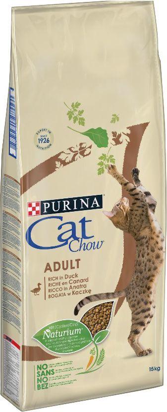 PURINA CAT CHOW ADULT Bogata w kaczkę 15kg