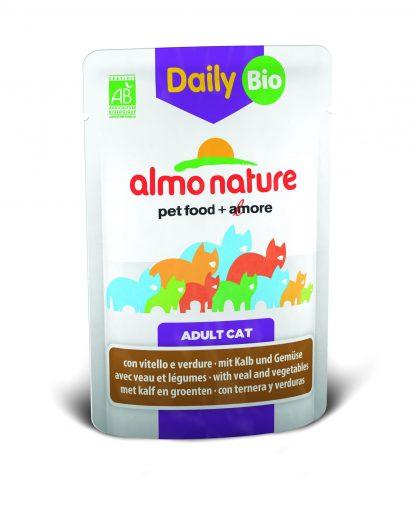 ALMO NATURE DAILY Bio z cielęciną i warzywami  70 g