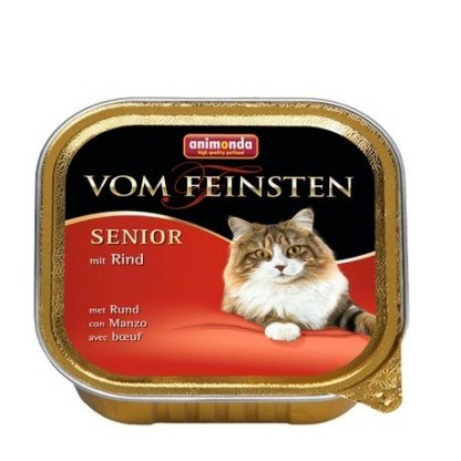 ANIMONDA Vom Feinsten Senior szalka z wołowiną 100 g