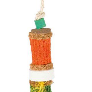 TRIXIE Zabawka z kukurydzą z naturalnych materiałów