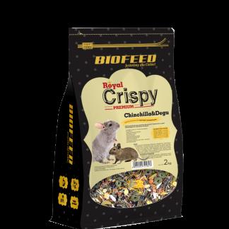 BIOFEED Royal Crispy Premium Chinchilla&Degu 2kg - dla szynszyli i koszatniczek