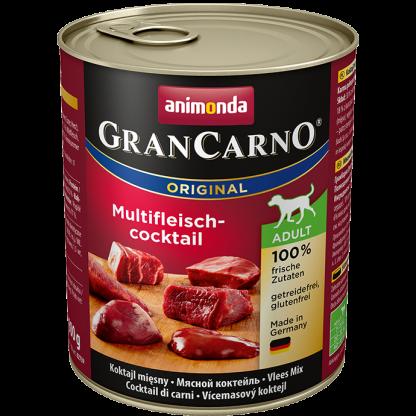 ANIMONDA GranCarno Orginal Adult puszki mieszanka czterech mięs 800 g