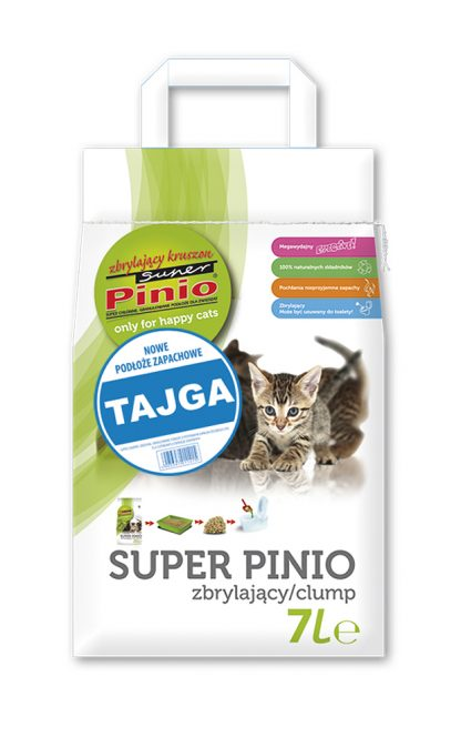SUPER PINIO Zbrylający Kruszon Tajga 7l
