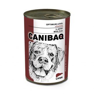 CANIBAQ Classic konserwa dla psa - wątróbka 415g