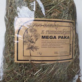 WIO-MAR Jaśkowe sianko z rumiankiem Mega Paka 1kg