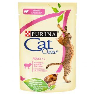 PURINA CAT CHOW ADULT GiJ Jagięcina Zielona Fasola 85g