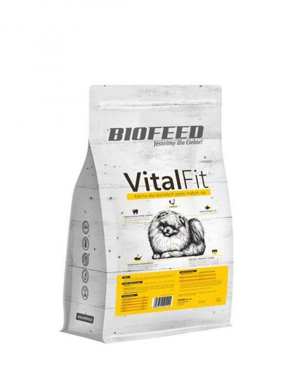 BIOFEED VitalFit - dorosłe psy małych ras (drób) 15kg