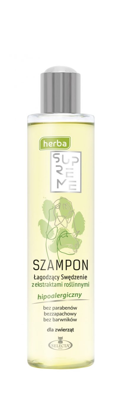 SELECTA Herba Supreme Szampon Likwidujący Swędzenie 250ml