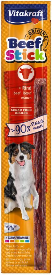 VITAKRAFT BEEF STICK 1szt wołowina przysmak d/psa