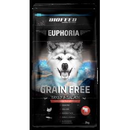 BIOFEED Euphoria Junior Dog GRAIN FREE - Turkey&Salmon 2kg