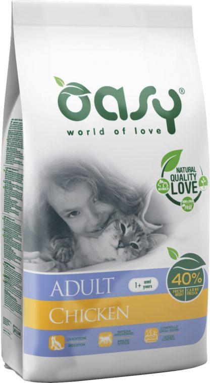 OASY DRY CAT Adult - Kurczak 1