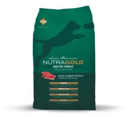 NUTRA GOLD GF DUCK & SWEET POTATO 13