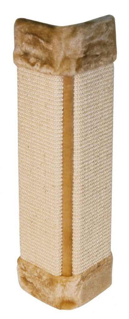 KERBL Drapak dla kota deska narożna z agawy