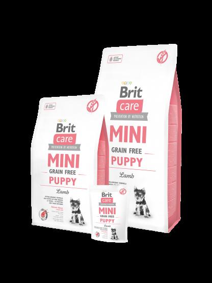 BRIT CARE MINI GRAIN-FREE PUPPY LAMB 400 g