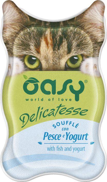 OASY DELICATESSE Soufflè - Ryba i jogurt 85 g