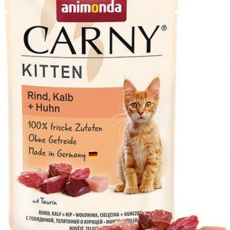 ANIMONDA Carny Kitten wołowina