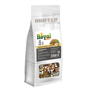 BIOFEED Royal Snack - Kompozycja warzyw z ziołami 150g