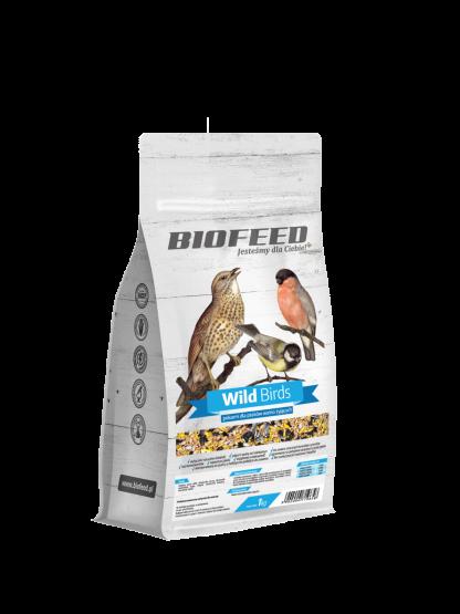 BIOFEED Wild Birds - wielosezonowa karma dla ptaków 1kg