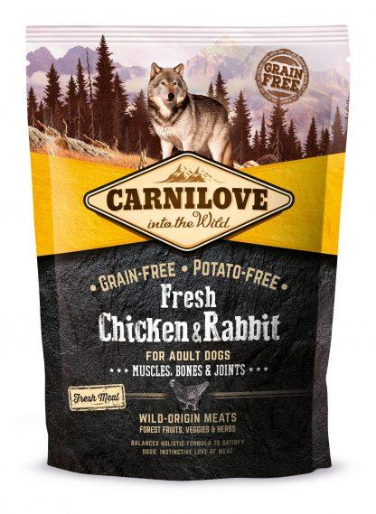 CARNILOVE FRESH CHICKEN & RABBIT FOR ADULT 1